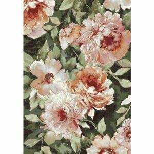 Vloerkleed bloemen anaheim 3434