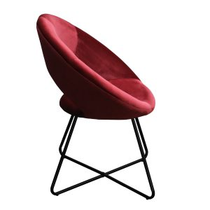 Kick collection fauteuil coco rood