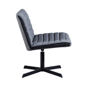 Kick collection fauteuil orea velvet grijs