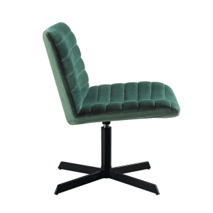Kick collection fauteuil orea velvet groen