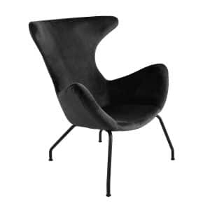 Kick collection fauteuil billy antraciet