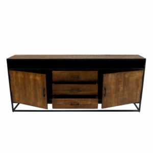 Kick collection industrial tv meubel