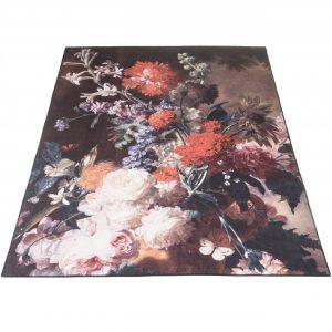 Bloemen vloerkleed remy topshot